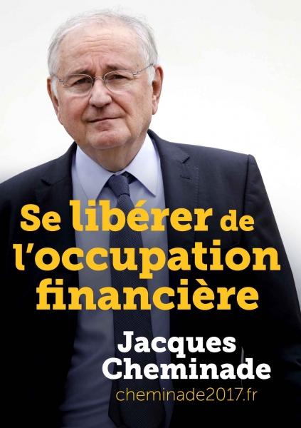 Affiche Officielle de campage de Jacques CHEMINADE
