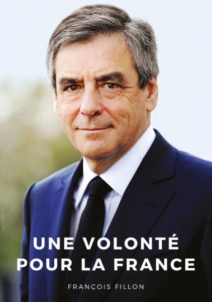 Affiche Officielle de campage de François FILLON