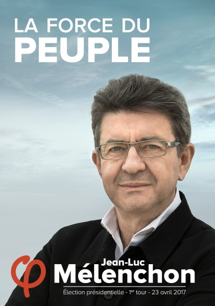 Affiche Officielle de campage de Jean-Luc MELENCHON